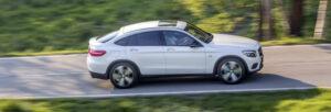 Fotos de la prueba del Mercedes GLC Coupé