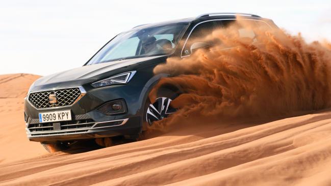 Prueba extrema del Seat Tarraco 4Drive en Marruecos