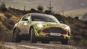 Primeras fotos del Aston Martin DBX