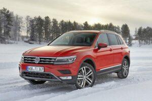 El Volkswagen Tiguan 2016, en la nieve