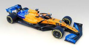 Fotos del McLaren MCL34 de Carlos Sainz