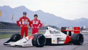 Fotos de los campeones del Mundo de Formula 1 (1975-1995)
