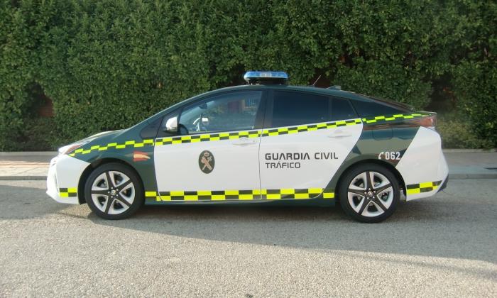 prius guardia civil
