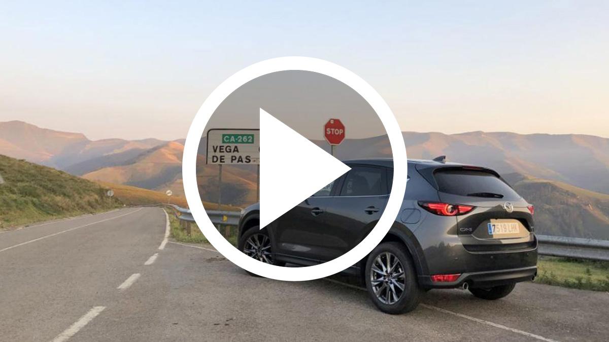 Probamos el Mazda CX-5 2020 en las carreteras más bonitas de Cantabria