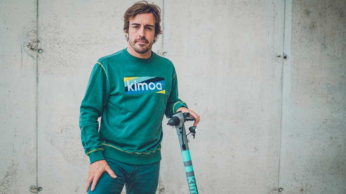Pure Air: así es el patinete eléctrico de Fernando Alonso