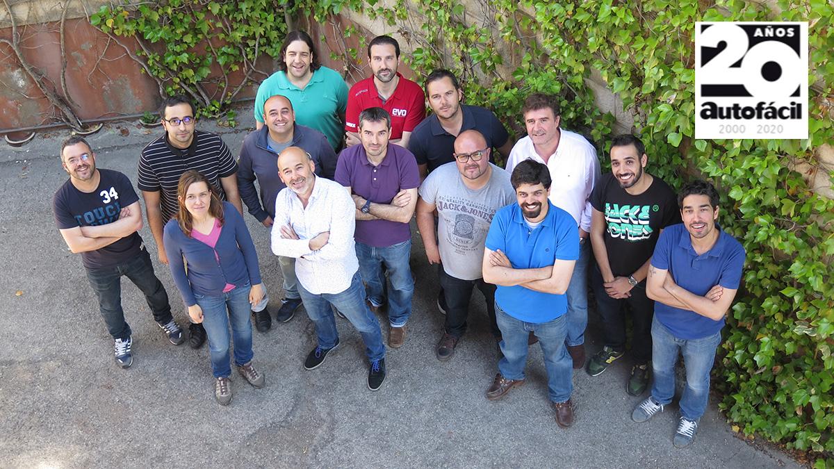 El equipo que ha hecho posible Autofácil… ayer y hoy