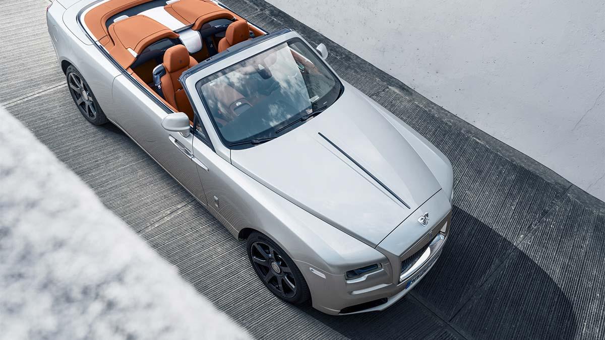 El Rolls-Royce Dawn Silver Bullet: lujo en formato speedster limitado a 50 unidades