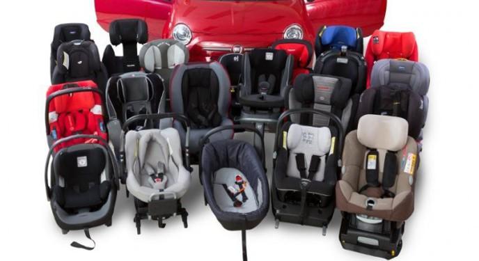 sistemas retencion infantil coche estudio