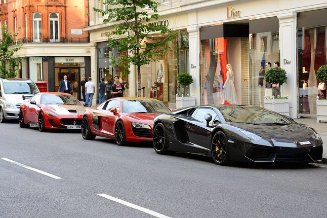 supercoches londres