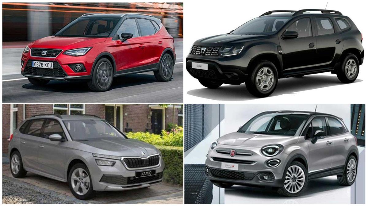 Cinco SUV nuevos que puedes comprar por 15.000 euros