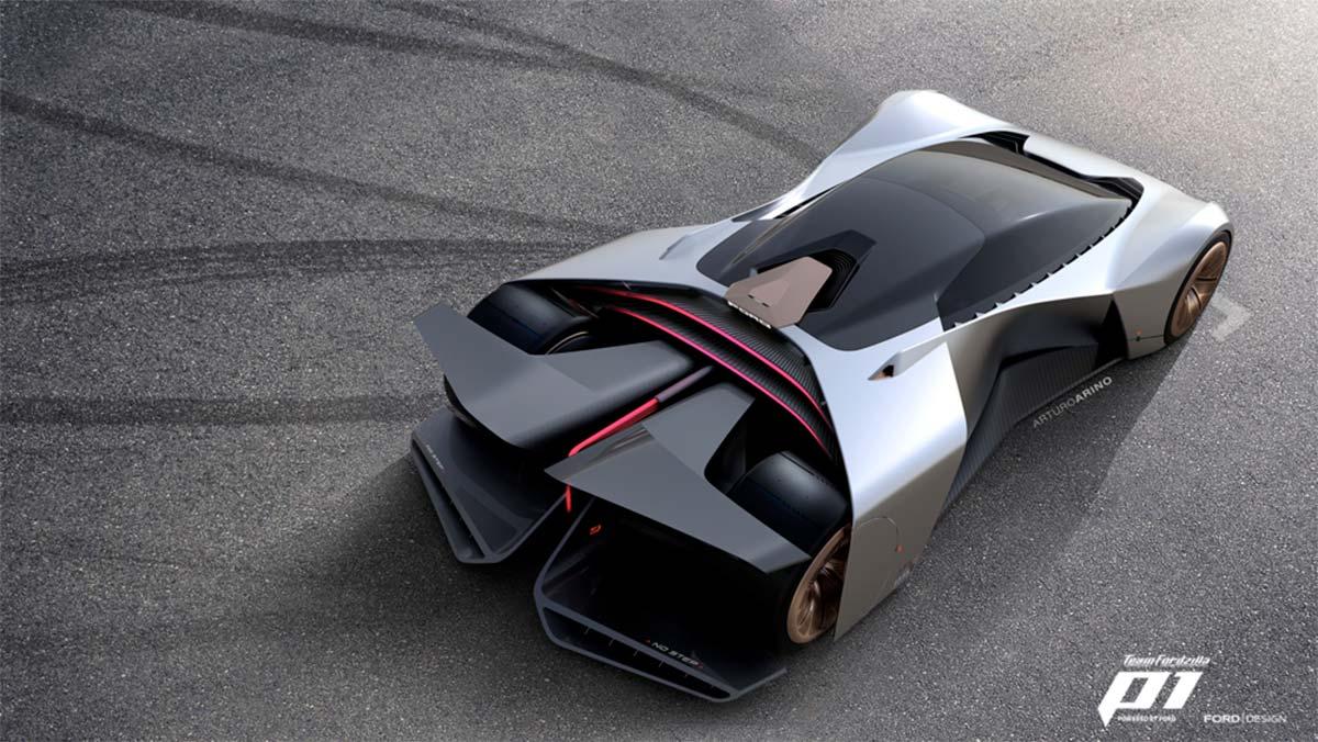 Team Fordzilla P1: el nuevo coche de competición virtual de Ford