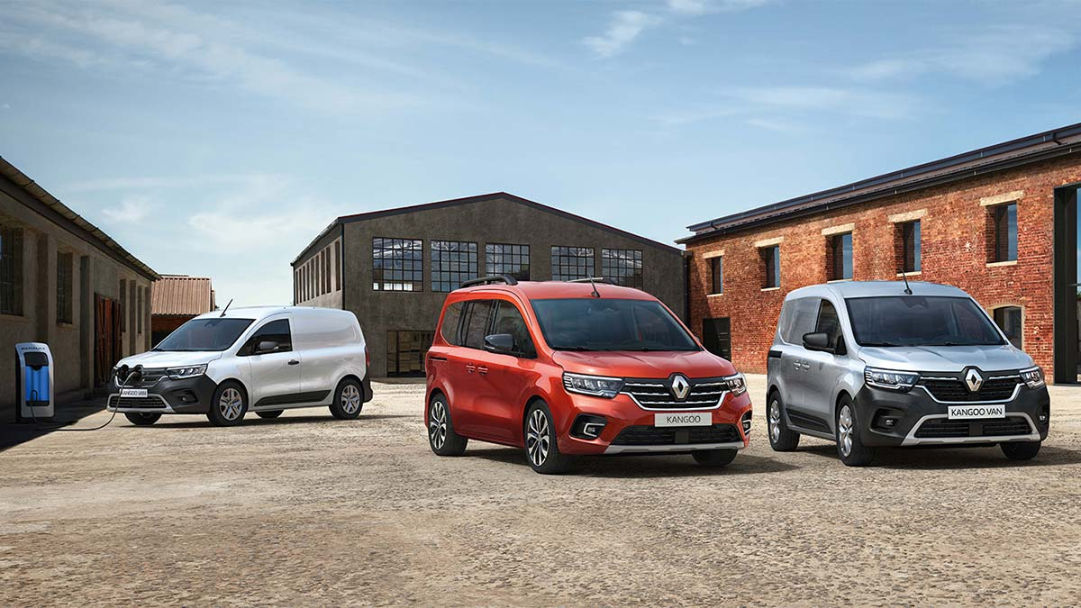 the all new renault kangoo and the all new renault