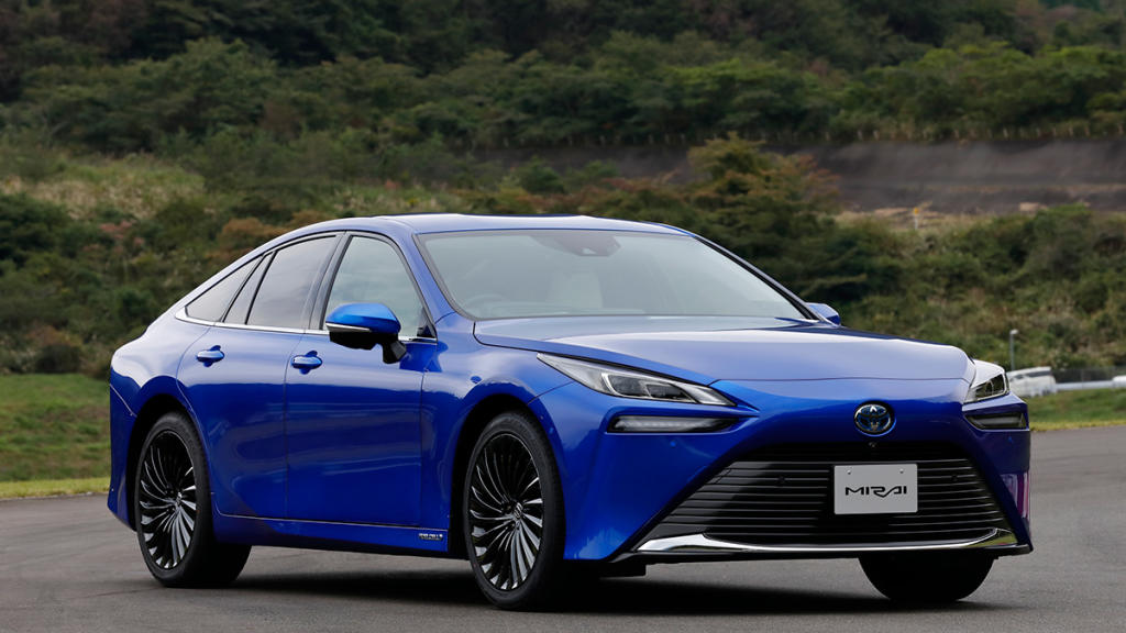 Vídeo Toyota Mirai 2021: con hidrógeno como combustible