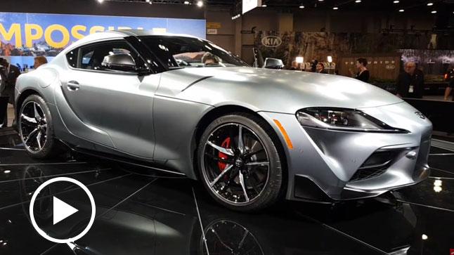 Vídeo: Toyota Supra, en vivo desde el Salón de Detroit 2019