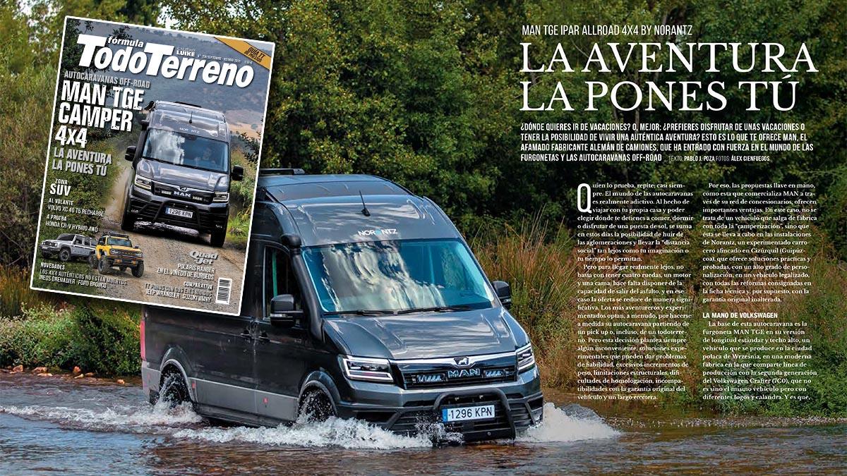 La revista Fórmula TodoTerreno, de un vistazo