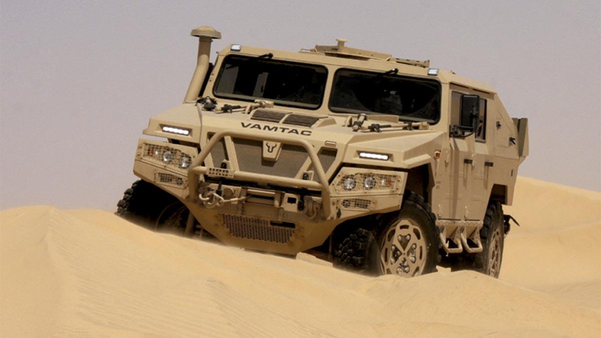 600 nuevos Uro Vamtac para el Ejército