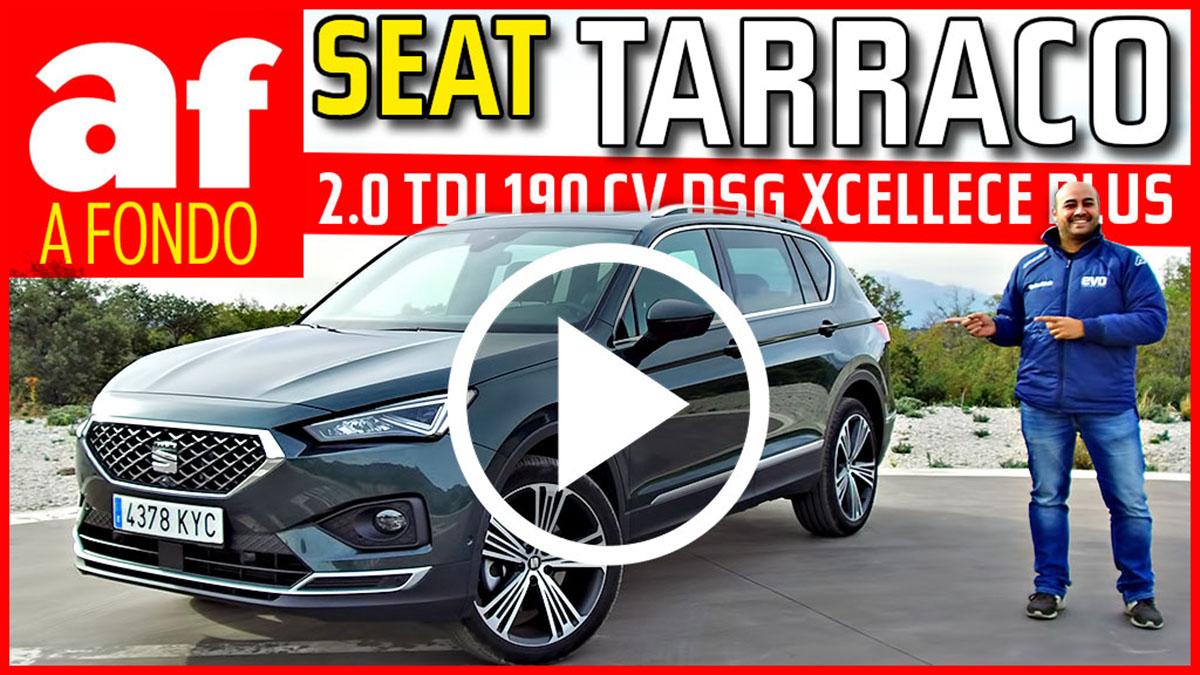 Seat Tarraco 2.0 TDI 190 CV DSG Xcellence Plus: review y prueba a fondo