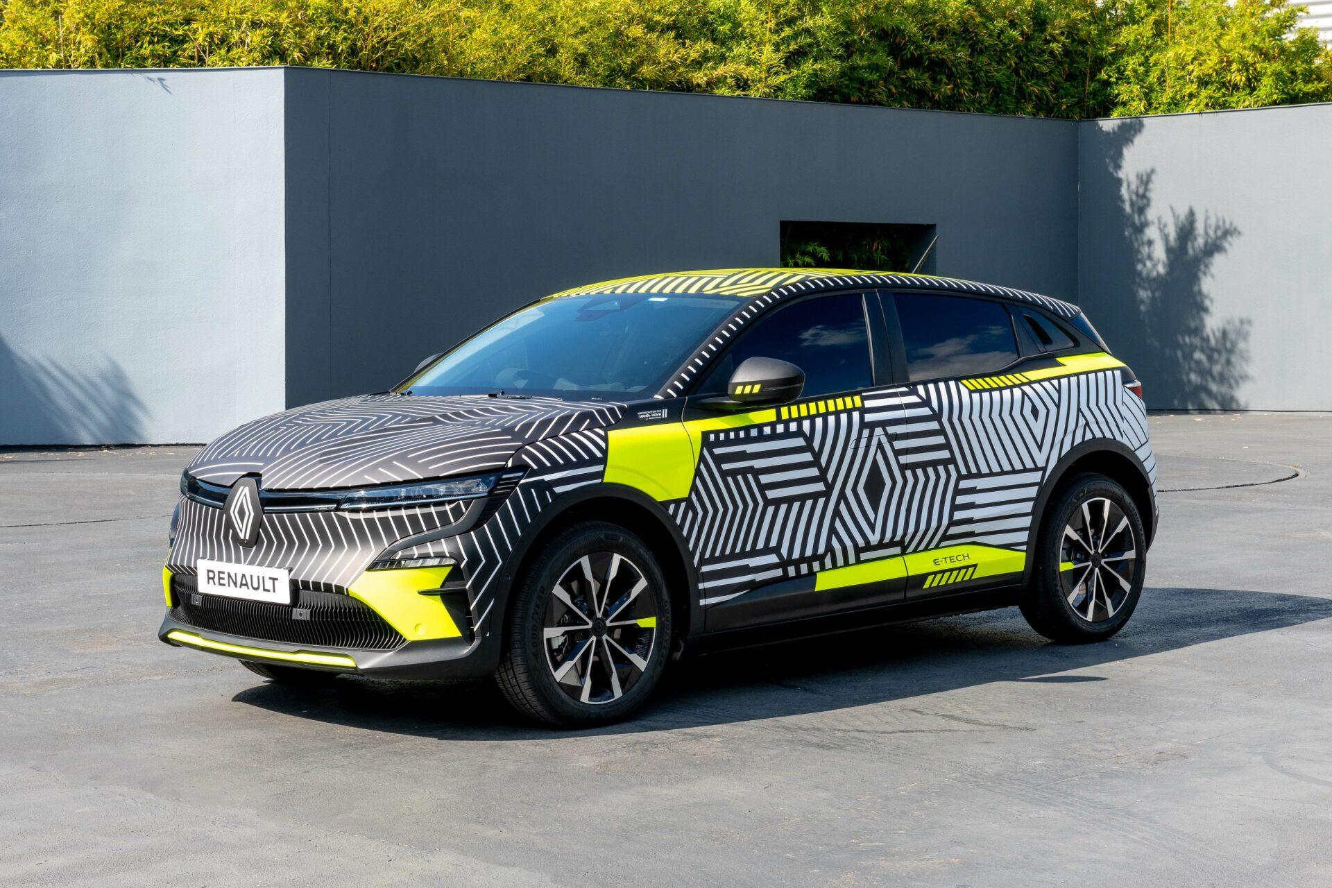 Nuevo Renault Mégane E-Tech Electric 2021: en formato SUV, con 217 CV y 450 km de autonomía