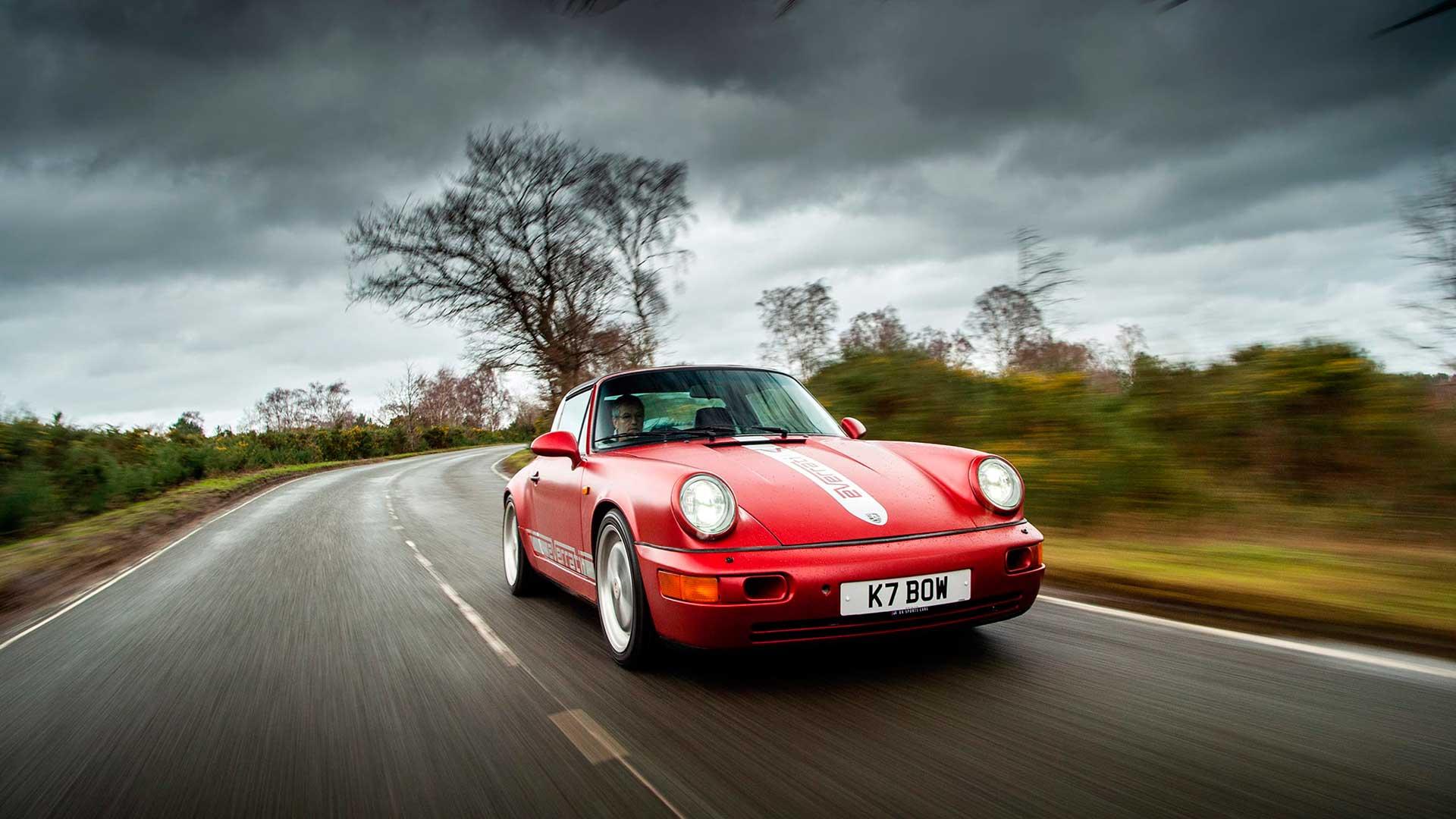 Prueba Everrati Porsche 964 2021: un clásico reconvertido a eléctrico