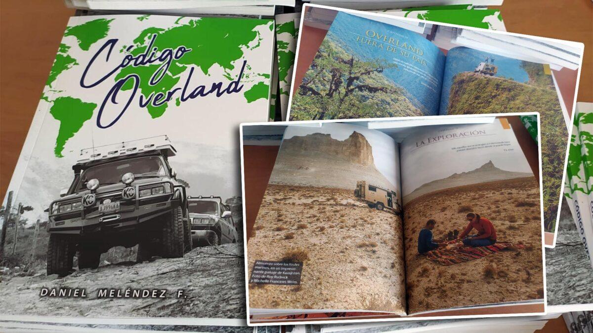 Libro Código Overland, de Daniel Meléndez