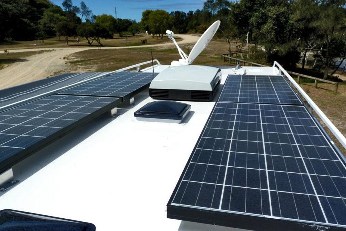Paneles solares autocaravana