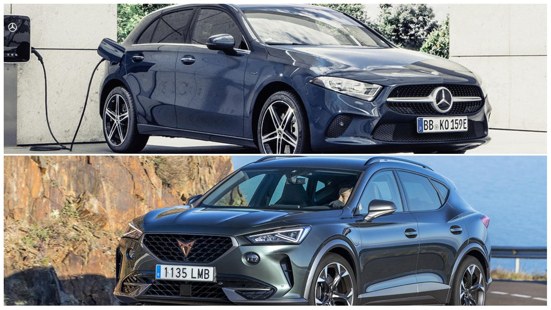 Qué coche híbrido enchufable compro, ¿un Mercedes A 250 e AMG o un Cupra Formentor?