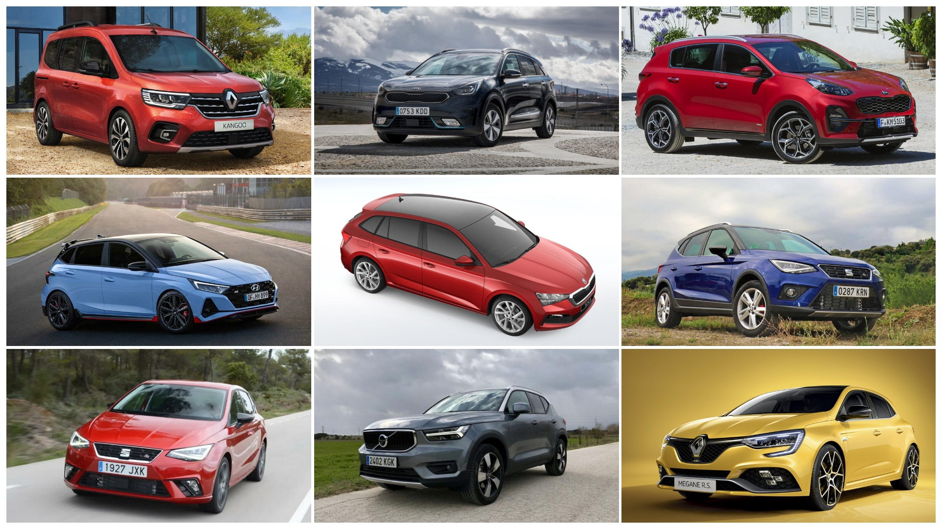 Los 9 coches con mejores ofertas de junio