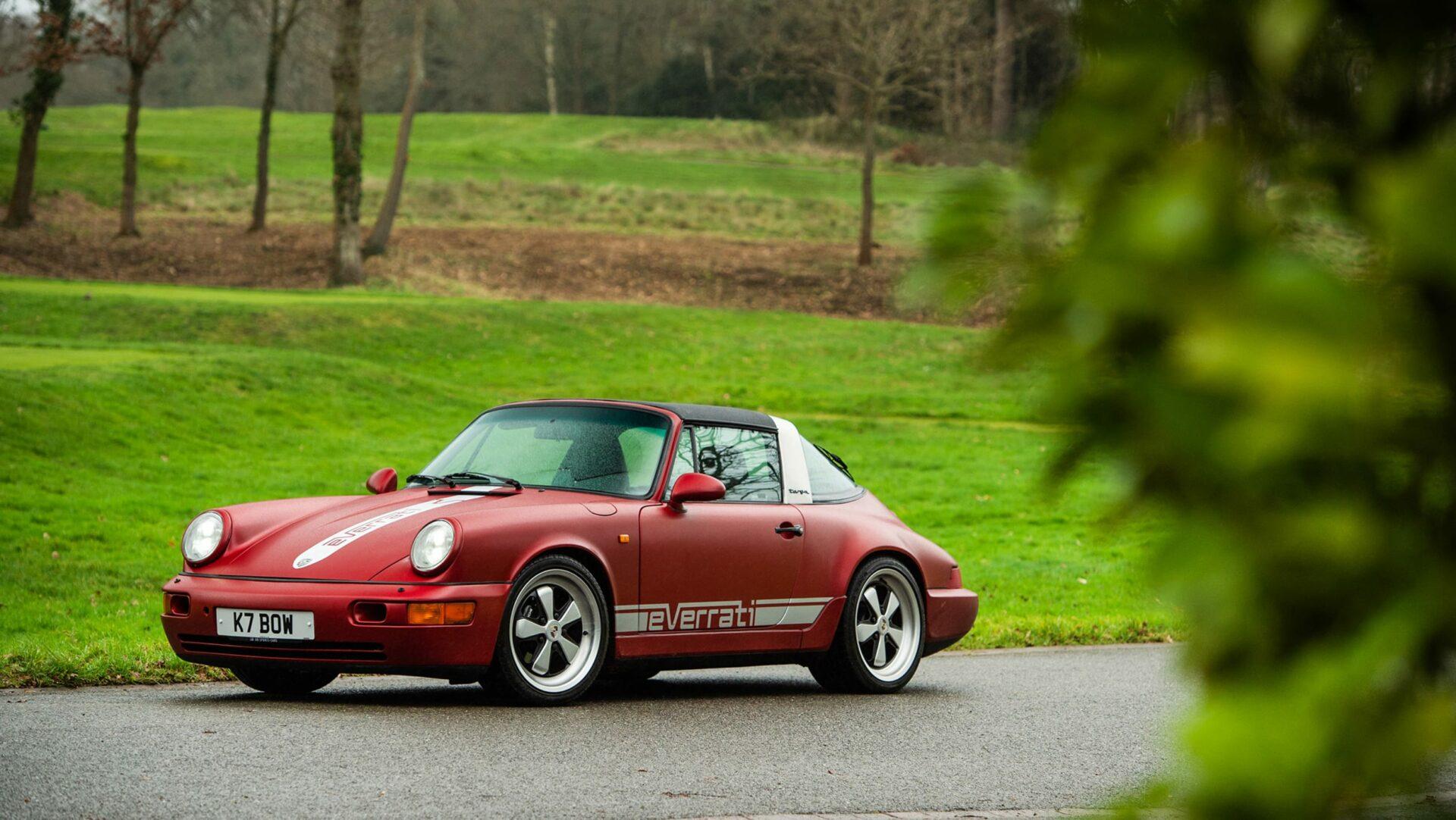Fotos: Prueba Everrati Porsche 964