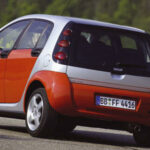 Smart ForFour año 2004 trasera