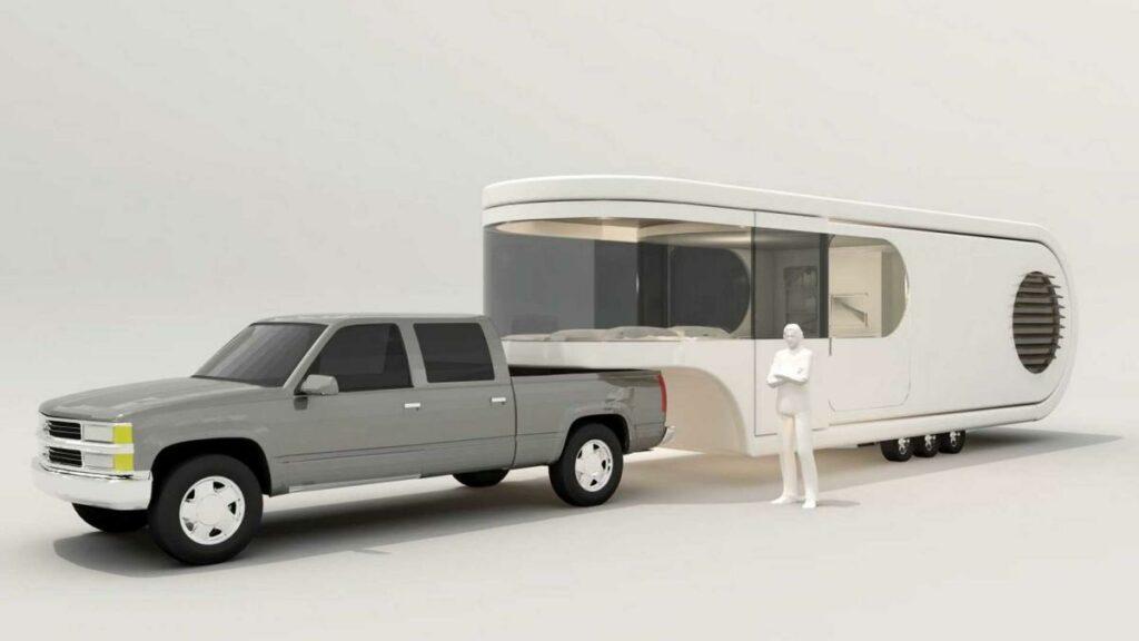 Esta autocaravana todavía es un prototipo que se está fabricando en Nueva Zelanda y será completamente personalizable para los clientes.