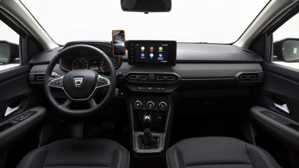 Dacia Logan 2021 interior