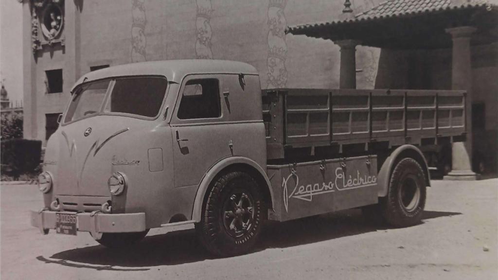 Pegaso Z-601 camión eléctrico