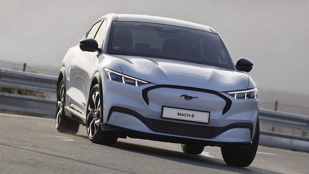 Ford Mustang Mach-E 2021: ¡un SUV eléctrico deportivo de 269 CV por 41.533 euros!