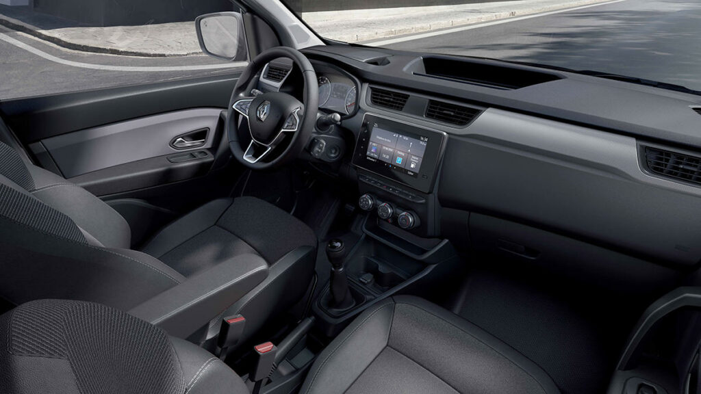 Renault Express 2021 interior