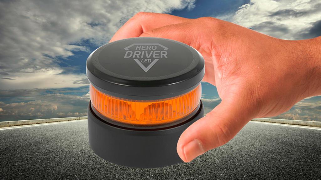 luces de emergencia V16 Hero driver