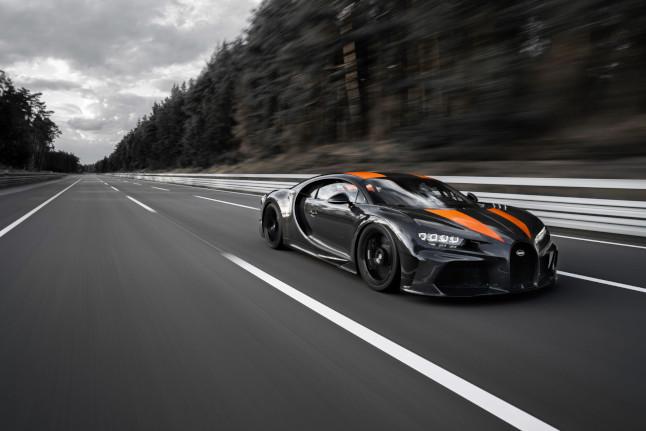 Bugatti Chiron: récord de velocidad con 490 km/h