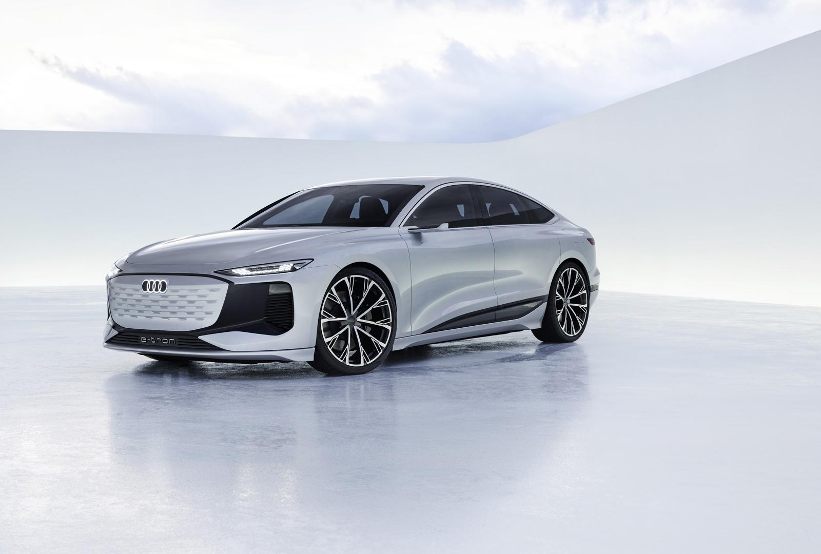 Audi A6 e-tron concept: el futuro del A6 es eléctrico y Sportback