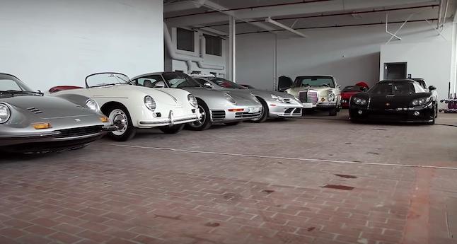 Una colección de coches de… ¡60 millones de euros!