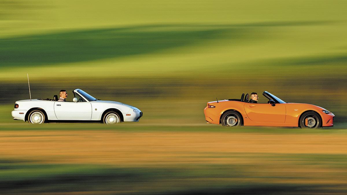 Mazda MX-5 (Mk1 1.6) vs. Mazda MX-5 Edición 30 Aniversario