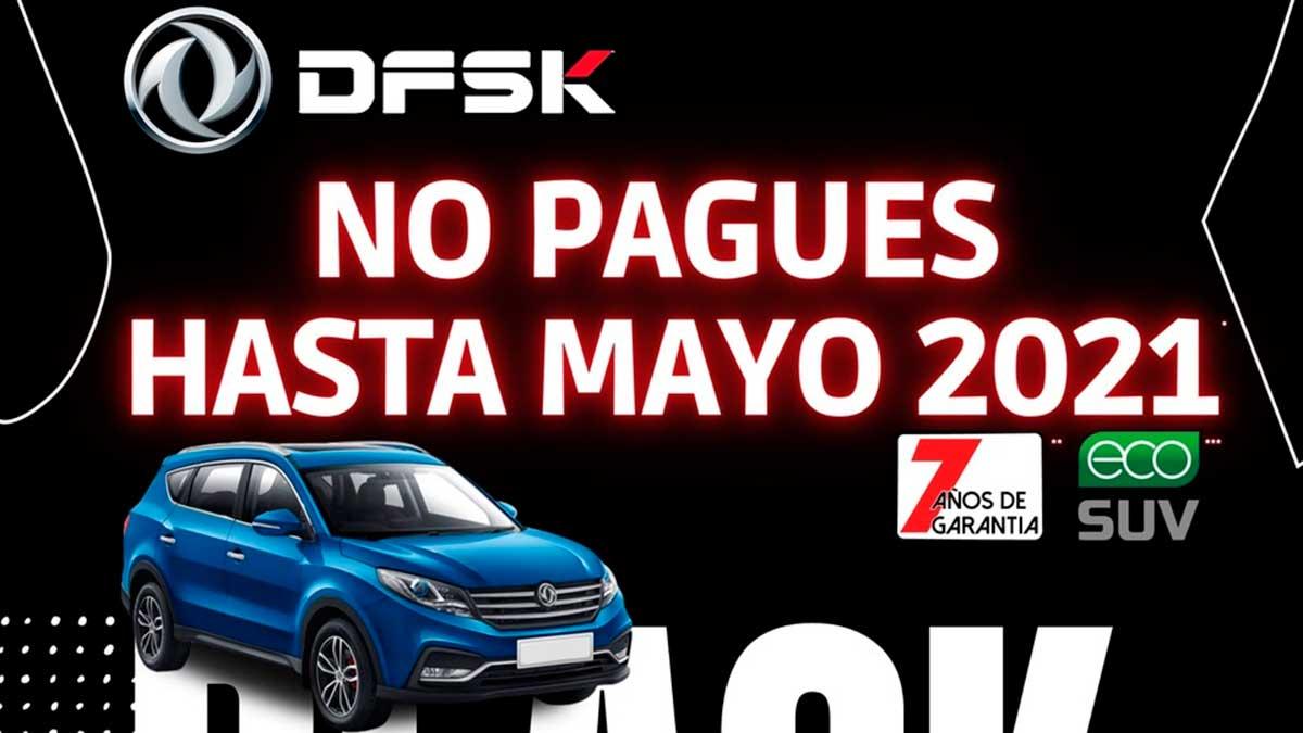 Black Friday: compra un DFSK y no pagues hasta mayo de 2021