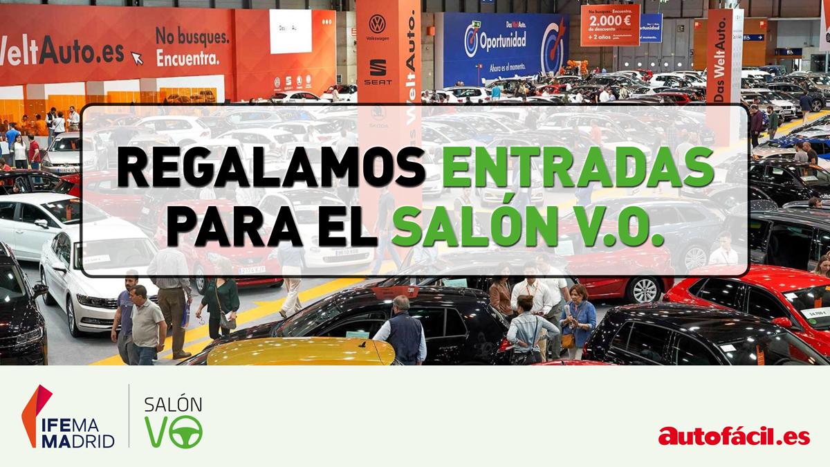¡Regalamos entradas para el Salón del Vehículo de Ocasión de Madrid!