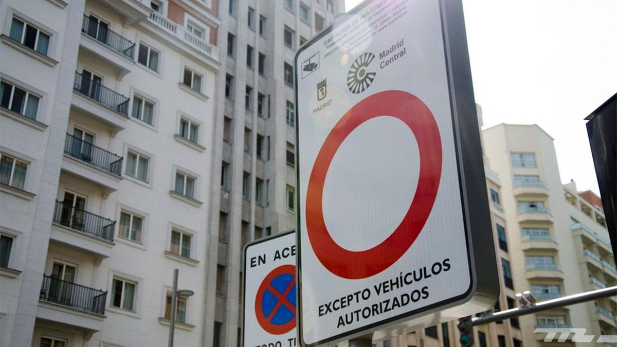 Madrid Central: los vehículos sin etiqueta medioambiental podrán seguir accediendo en 2021… en ciertos casos concretos
