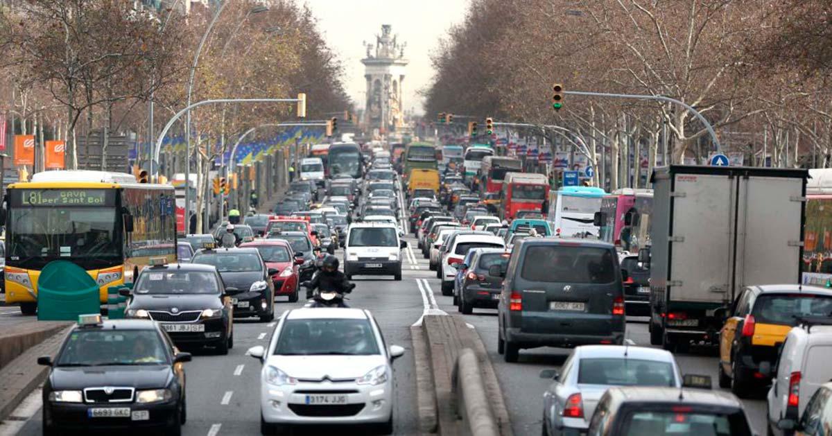 Las nuevas restricciones al tráfico que llegan a Barcelona a partir de otoño
