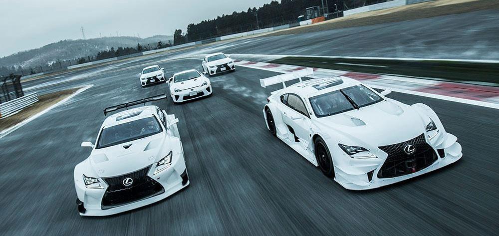 Así de sincronizados van los nuevos F de Lexus