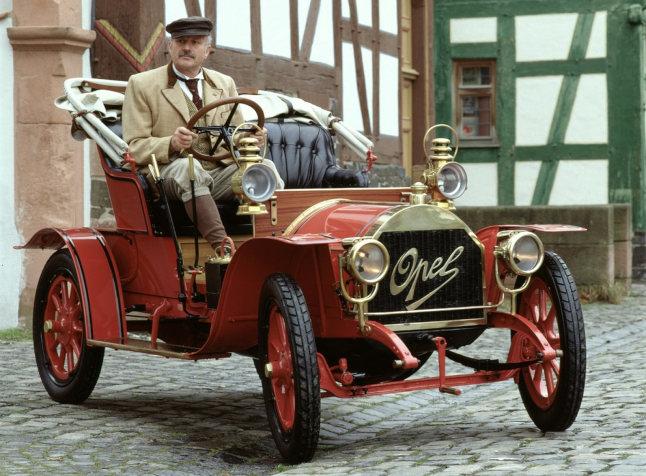1909 opel doctors car