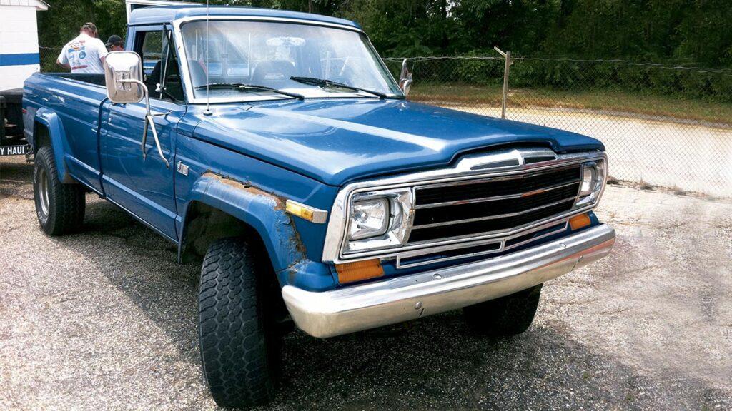 1972 J Series Pick Up