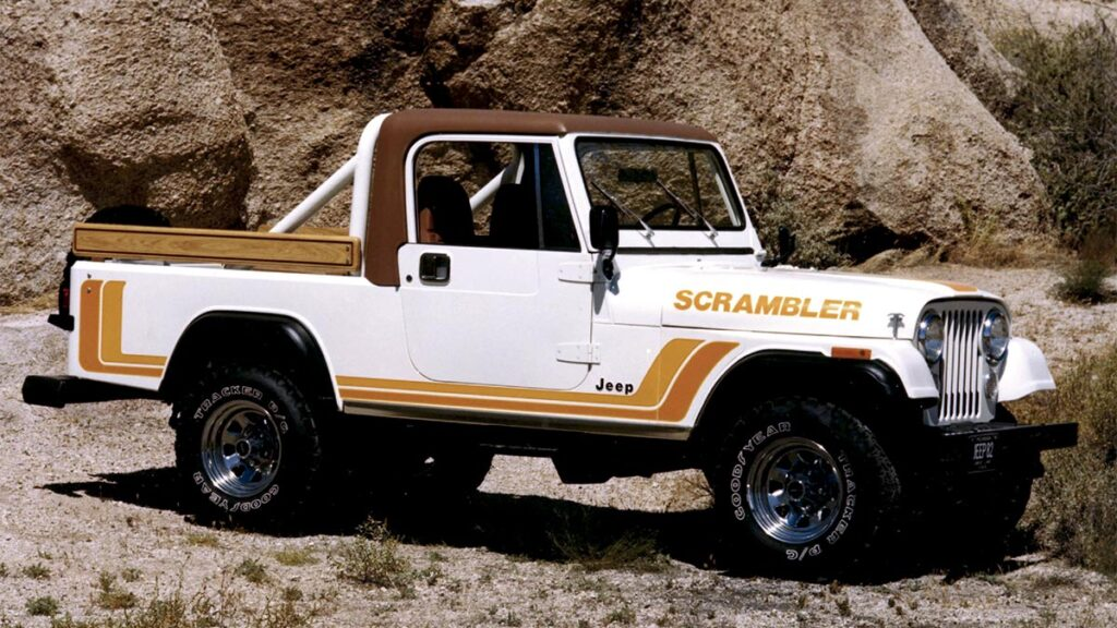 1981 CJ 8 Scrambler