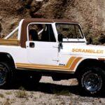 Jeep CJ-8 Scrambler (1981)