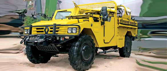 «33 copias del Hummer».El Renault Sherpa 2 es la imitación más reciente.