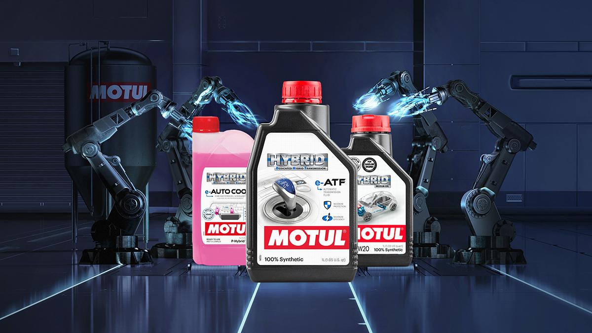 Motul lanza una gama de aceites y refrigerantes para coches híbridos